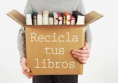 Reciclaje de libros